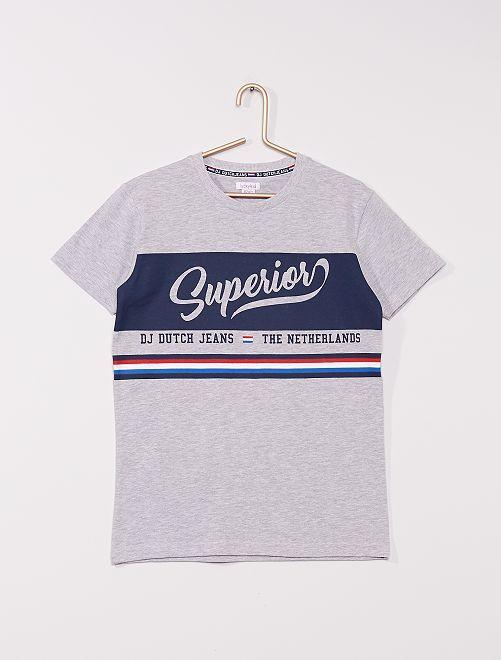 Camiseta 'Netherlands'                             gris