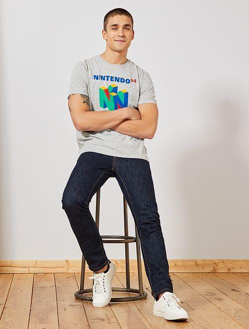 Camiseta 'Nintendo 64'                                         GRIS