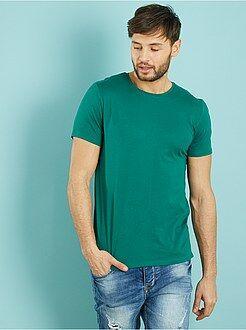 Camisetas talla xxl - Camiseta 'OWK'de algodón con cuello redondo