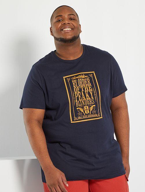 Camiseta 'Peaky Blinders'                             AZUL