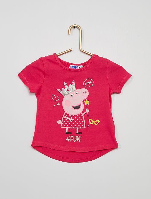 Camiseta 'Peppa Pig'                             ROSA