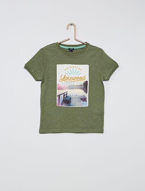 Camiseta photoprint                                         VERDE