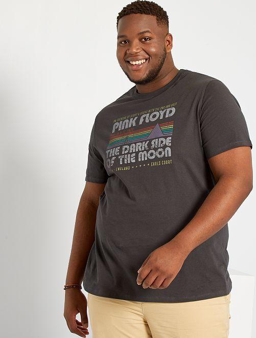 Camiseta 'Pink Floyd'                             gris oscuro