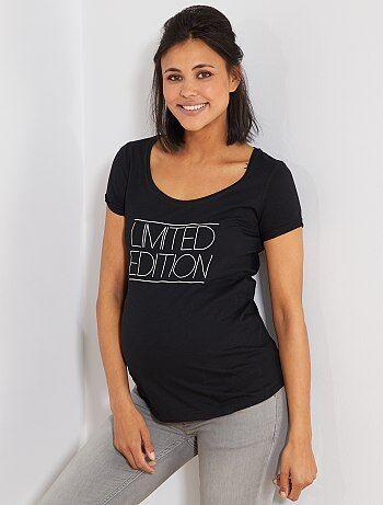 63522641e Premamá - Camiseta premamá de algodón orgánico - Kiabi