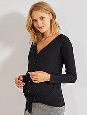información para f949e 4e7d2 Tops y camisetas de premamá para Mujer | Kiabi