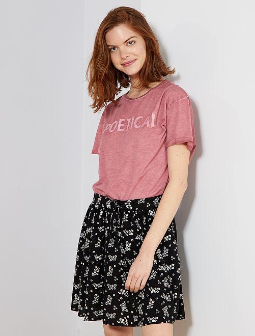 Camiseta 'Pretty'                                         ROSA Mujer talla 34 a 48