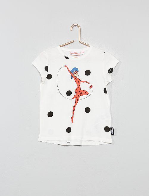 Camiseta 'Prodigiosa Ladybug'                             blanco nieve Chica