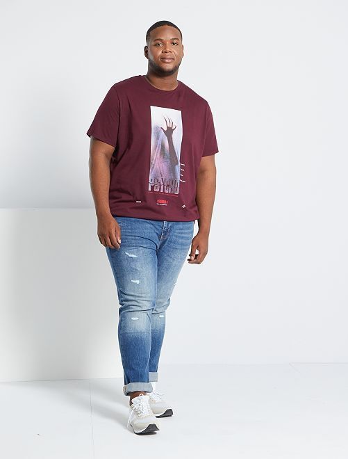 Camiseta 'Psycho'                             ROJO