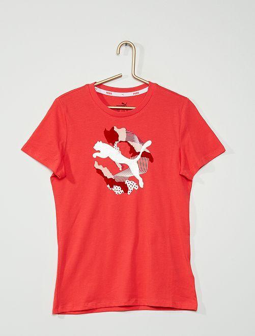 Camiseta Puma                             BEIGE