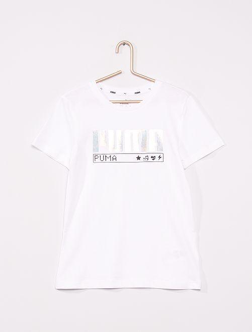Camiseta 'Puma'                             BLANCO
