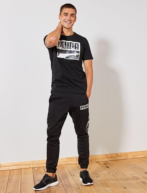 Camiseta 'Puma'                             NEGRO