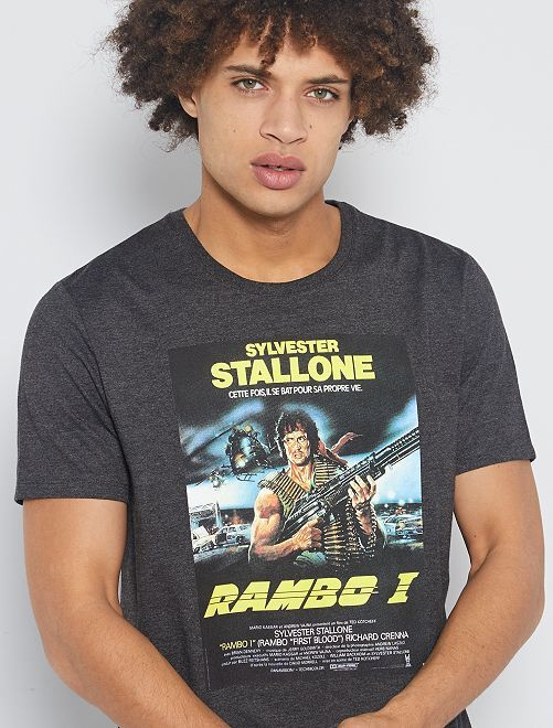 Camiseta 'Rambo'                             GRIS