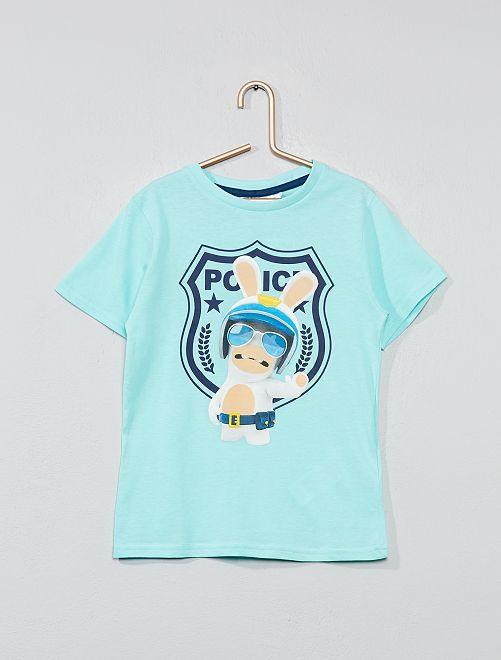 Camiseta 'Raving Rabbids'                                         AZUL Chico