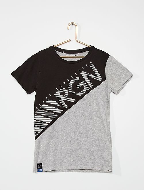Camiseta 'Rebel Generation'                                         azul