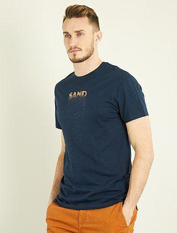 Camiseta recta estampada +1m90 - Kiabi