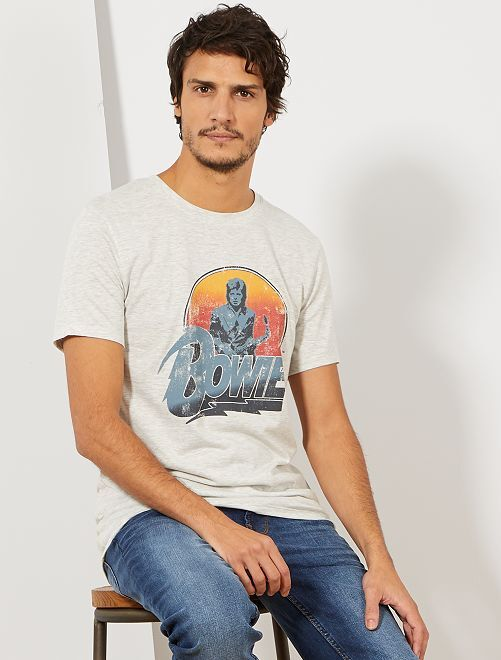 Camiseta 'Red Hot Chili Peppers'                                                     GRIS