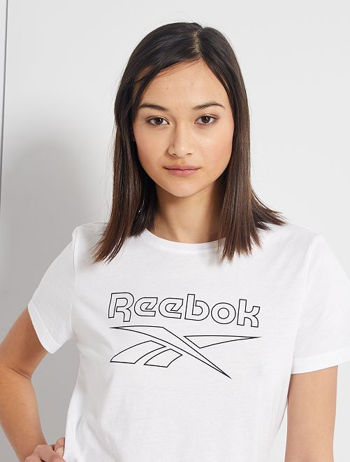 Camiseta 'Reebok'                             BLANCO