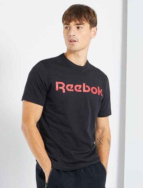 Camiseta 'Reebok'                             NEGRO