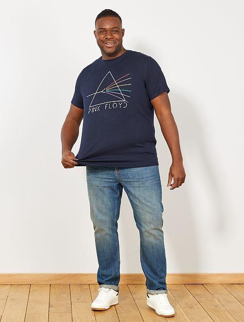 Camiseta regular 'Pink Floyd'                             GRIS Tallas grandes hombre