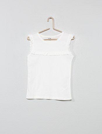 001baacbea537 Soldes t-shirt fille - top, tee-shirt - vêtements Vêtements fille | Kiabi