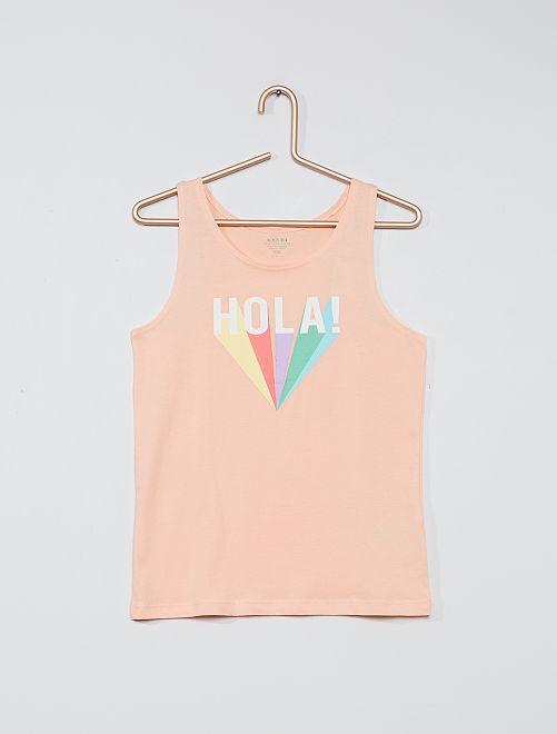 Camiseta sin mangas 'eco-concepción'                                 ROSA
