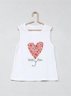 Niña 0-36 meses - Camiseta sin mangas estampada - Kiabi