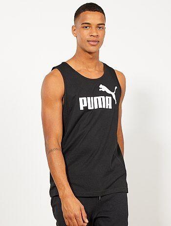 e17e15a99ddf6 Hombre talla S-XXL - Camiseta sin mangas estampada  Puma  - Kiabi