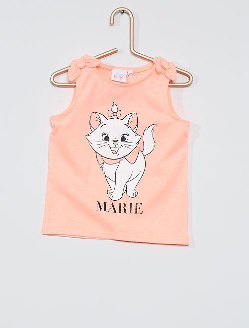 Camiseta sin mangas 'Marie' de 'Los Aristogatos'                             ROSA