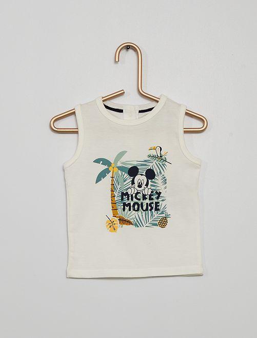 Camiseta sin mangas 'Mickey'                                                     BLANCO mickey