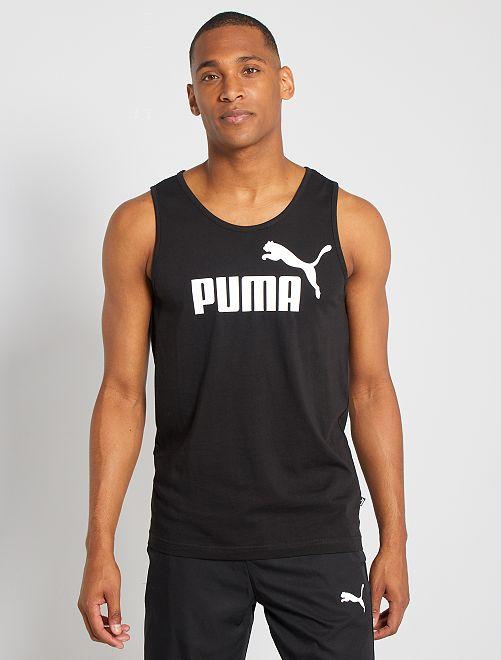 Camiseta sin mangas 'Puma'                             NEGRO