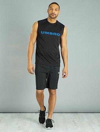 Camiseta sin mangas técnica 'Umbro' - Kiabi