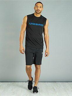 Camiseta - Camiseta sin mangas técnica 'Umbro' - Kiabi