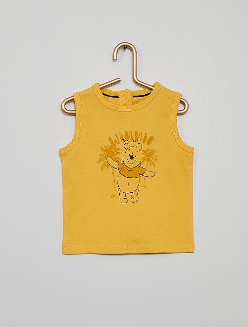 Camiseta sin mangas 'Winnie'                                                     AMARILLO