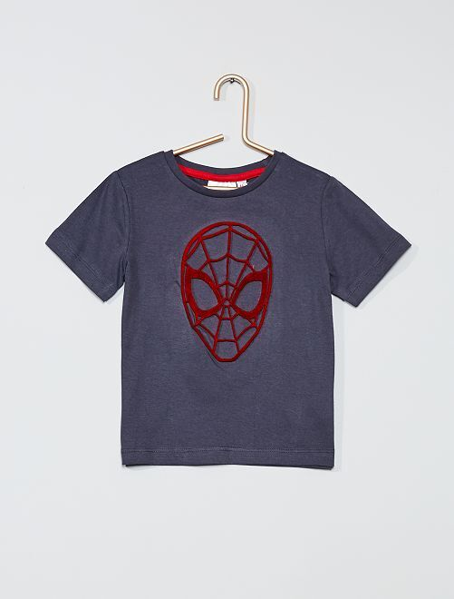 Camiseta 'Spider-Man'                             gris