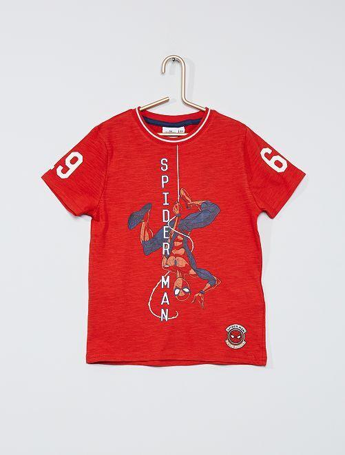 Camiseta 'Spider-Man'                                         ROJO