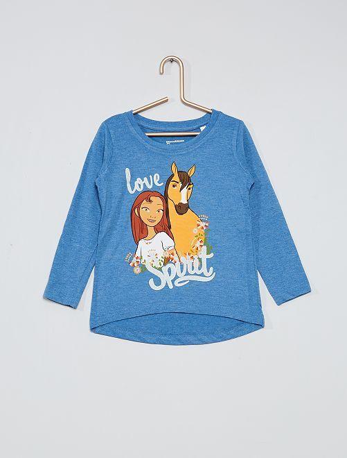 Camiseta 'Spirit'                                                     azul