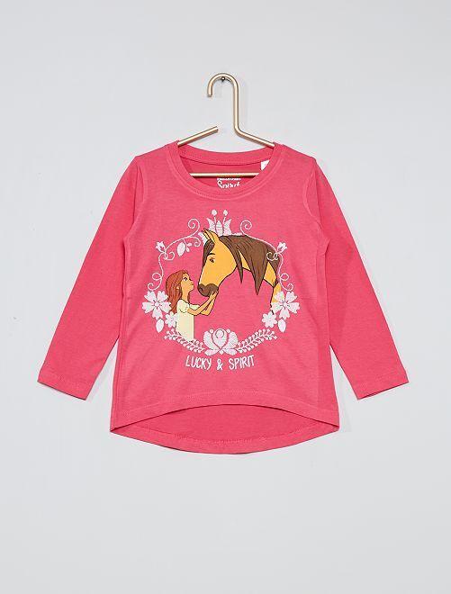 Camiseta 'Spirit'                     fucsia