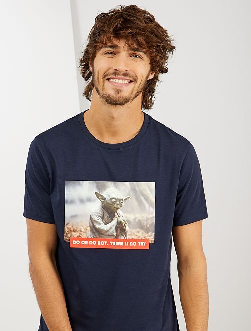 Camiseta 'Star Wars'                                         AZUL