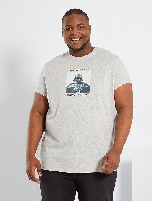 Camiseta 'Star Wars' eco-concepción                             GRIS
