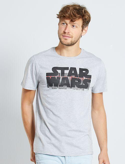 Camiseta 'Star Wars'                             gris chiné