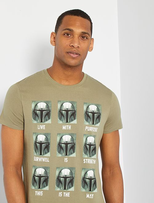 Camiseta 'Star Wars'                             KAKI