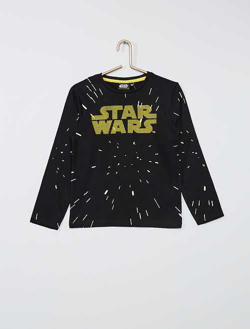 Camiseta 'Star Wars'                                         negro