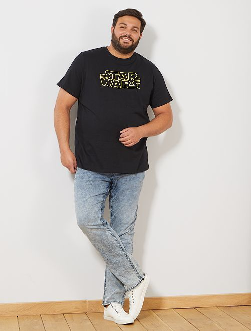 Camiseta 'Star Wars'                             NEGRO