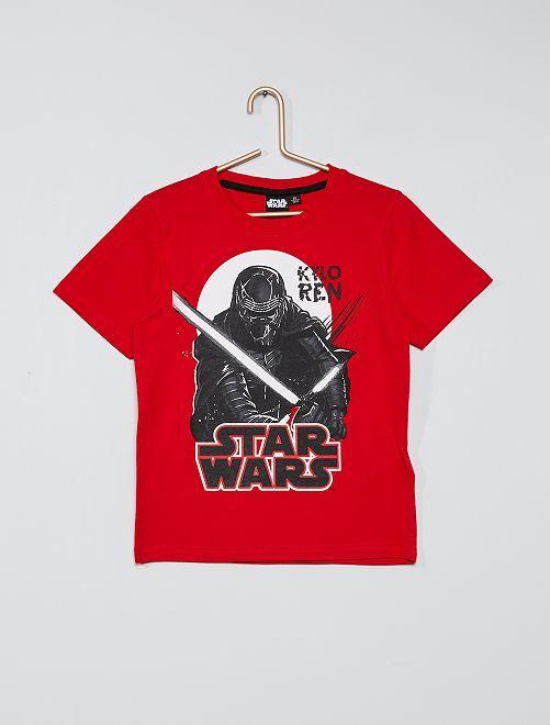 Camiseta 'Star Wars'                             rojo