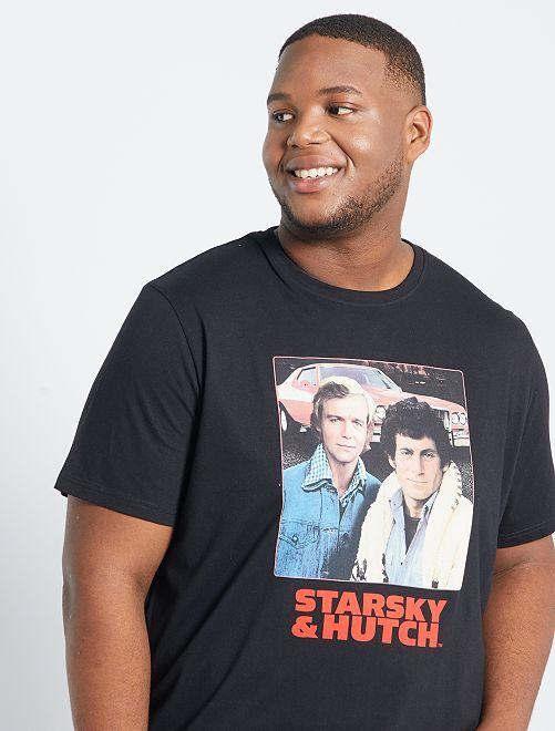 Camiseta 'Starsky y Hutch'                             negro