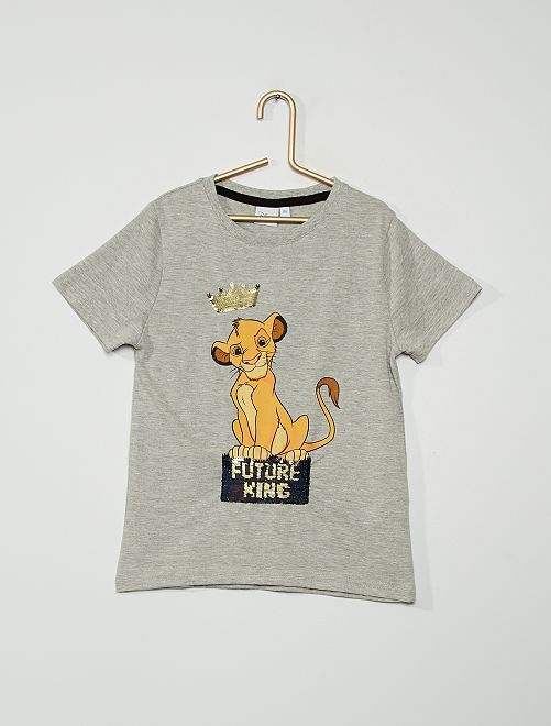 Camiseta 'Stitch' 'Disney'                                                                             GRIS