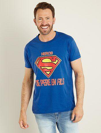 Pequeños La SupermanKiabi Moda Camiseta A Precios TlF1JcK