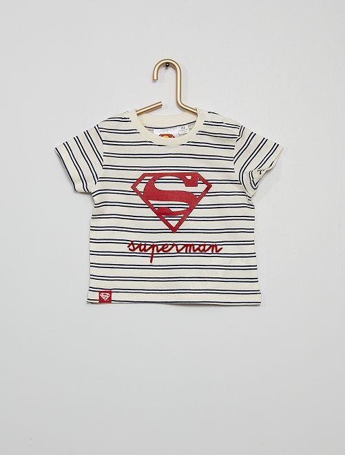Camiseta 'Superman'                                         BLANCO
