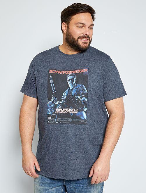 Camiseta 'Terminator 2'                             AZUL