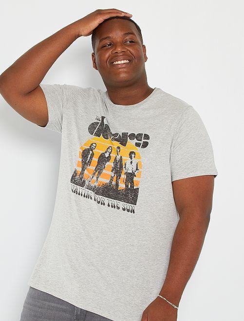 Camiseta 'The Doors'                             GRIS